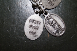 Devotie medaille Agatha 2 cm