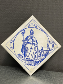 Amandus van Maastricht, tegel, 11 x 11 cm (10)