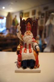 Sint Nicolaas op troon, 12.5 cm (10)