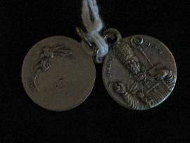 Devotie medaille Blasius rond