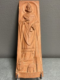 Clemens I, terracotta plaquette 30 x 9 cm (8)