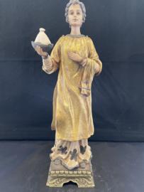 Vincentius van Zaragoza, 26 cm, resin. (5)