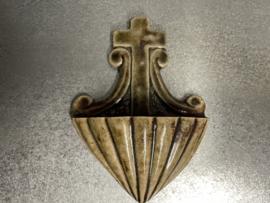 Wijwaterbakje, Terraco,  Beesel, Draak, 15.5 cm (10)