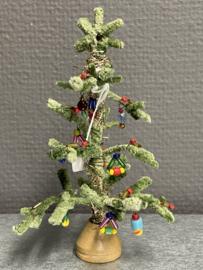 Antiek kerstboom, 13 cm, 1920, (9)