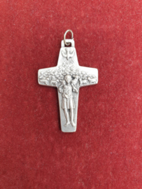 Kruisje, Paus Franciscus kruis, goede herder, 4 cm