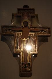 San Damiano kruis 2D hout, 21 cm (8)