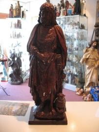 .Drogo van Epinoy Heilige 51 cm gips