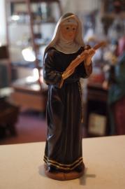 Heilige Rita van Cascia 20 cm resin