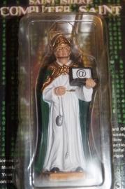 Isidoor van Madrid Patroon heilige Internet 10 cm resin, collectors item (A)