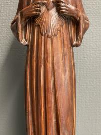 Jezus Heilig Hart, 43 cm, gips 1920 (0)