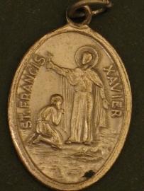 Devotie medaille Franciscus Xaverius