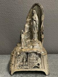 Lourdes grot, muziekdoos 16 x9 cm (6)