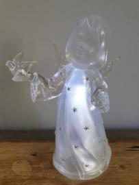 Engel nachtlamp kunststof 16 CM (17)