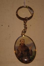 Sleutelhanger Heilige Franciscus