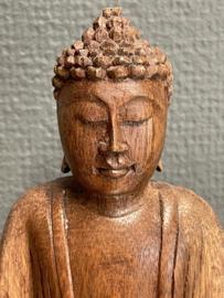 Boedha, Balinees hout, 15 cm (7)