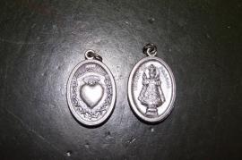 Kindje Jezus van Praag medaille, 2 cm