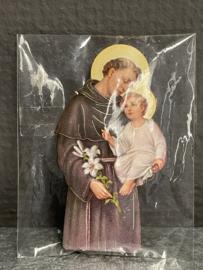 Antonius van Padua, 7 cm, koelkast magneet (0)