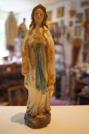 Maria OLV van Lourdes 20 cm, resin (3)