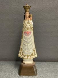Maria OLV van Loreto, gips, 22 cm (beschadigd) (7)