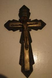 Art Deco crucifix 22 x 13 cm (A)