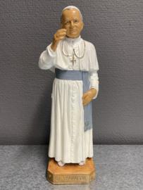Johannes Paulus II, rubber beeld uit de jaren 50, 23 cm (7)