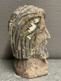 Jezus, houtsnijwerk Duits, 14 cm (2)