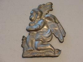Ex-voto, engel, zilver, 10  cm