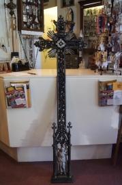 Antiek graf kruis, gietijzer, 149 x 47 cm