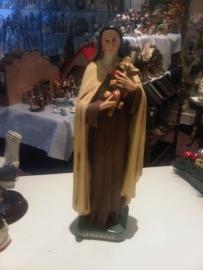 .Theresia van Lisieux 30 cm hoog gips