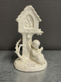 Hummel Goebel 33, engel bij weg kapel, 14 cm (8)