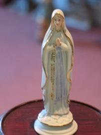 Lourdes, vuistbeeldje 9 cm