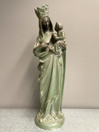 Maria OLV met kind, gips, 48 cm, 1900 (0)