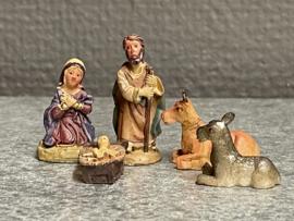 Kerstgroep, resin, 3 cm (9)