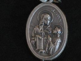 Devotie medaille Anna met Maria / Heilige Familie