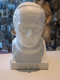 .Paul Pater van Dendermonde buste 24 cm hoog