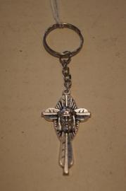 Sleutelhanger Christus kruis