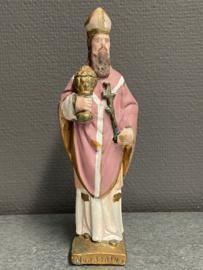 Norbertus van Xanten, bisschop, 21 cm, gips (8)