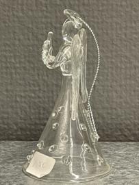 Engel met klaverblad, glas, 9 cm (0)