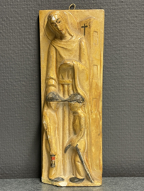 Barbara van Nicomedië, plaquette, 23 x 8,5 cm (10)