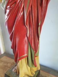 Jezus heilig hart, Gips, 1920, 53 cm, beschadigt (48)