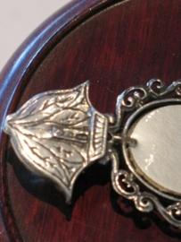 Wijwatervaatje, Zilver (925) OLV van Lourdes, 5.5 cm (10)