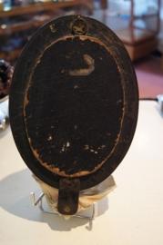 Wijwater bakje schelp meerschuim, ebbenhout, 26 cm (5)