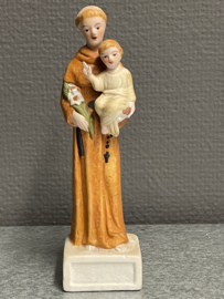 Antonius van Padua, porselein, 16 cm (8)