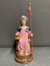 Santo Nino de Atocha, 16 cm, gips (21)