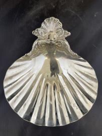Doop schelp, nikkel, 15 x 13 cm (5)