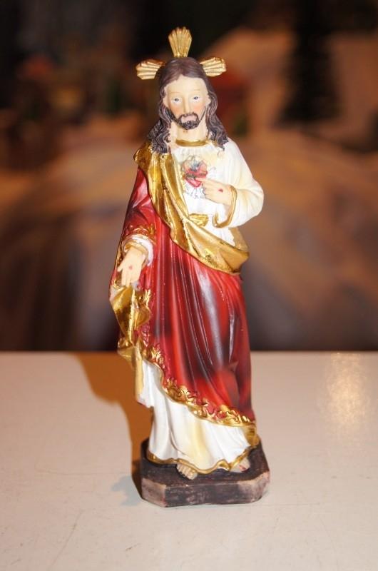 Heilig Hart Jezus,resin 15 cm