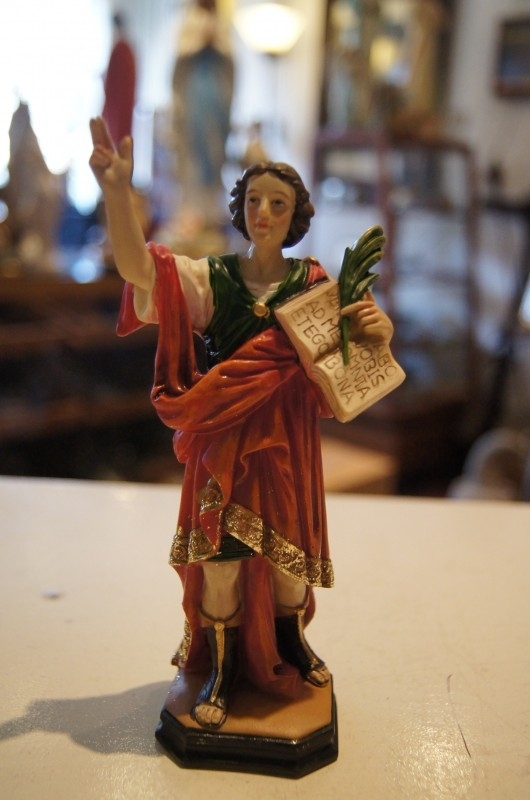 Pancratius Heilige 15 cm resin