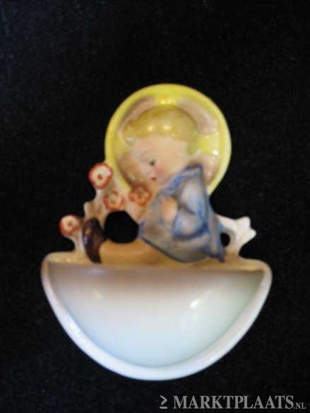 Wijwaterbakje gemaakt door Hummel 10.5 cm (met kind) (29)