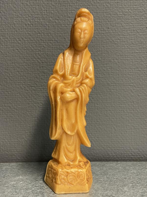 Kwan Yin, wassen beeldje, 24 cm (7)