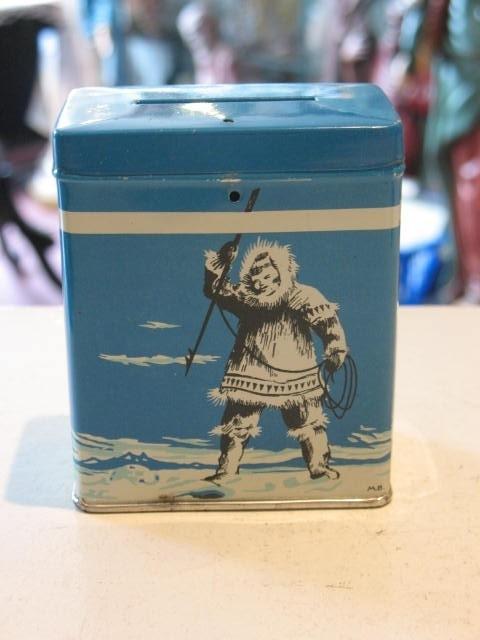 "Missiebusje, oblaten ""Du Pôle aux tropiques"", missie Noordpool voor de Eskimo`s. (4)"
